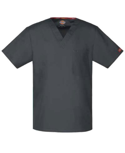 Filipina Dickies Medical Cuello V 83706 Unisex con Una Bolsa